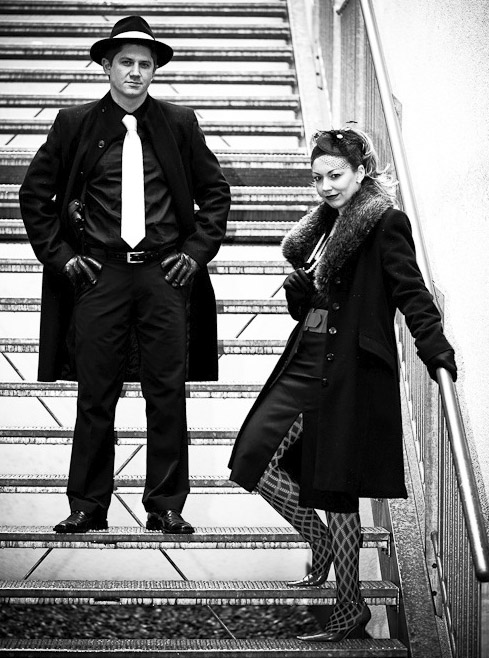 Mafia-Shooting - Principessa & Don