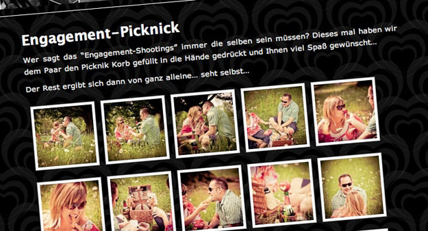 Echte Hochzeitsemotionen - Picknick-Shooting