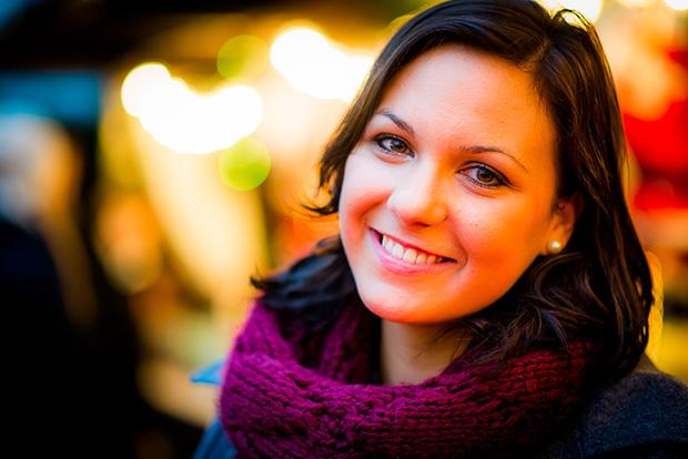 Fotospaziergang mit Maria über den Frankfurter Weihnachtsmarkt