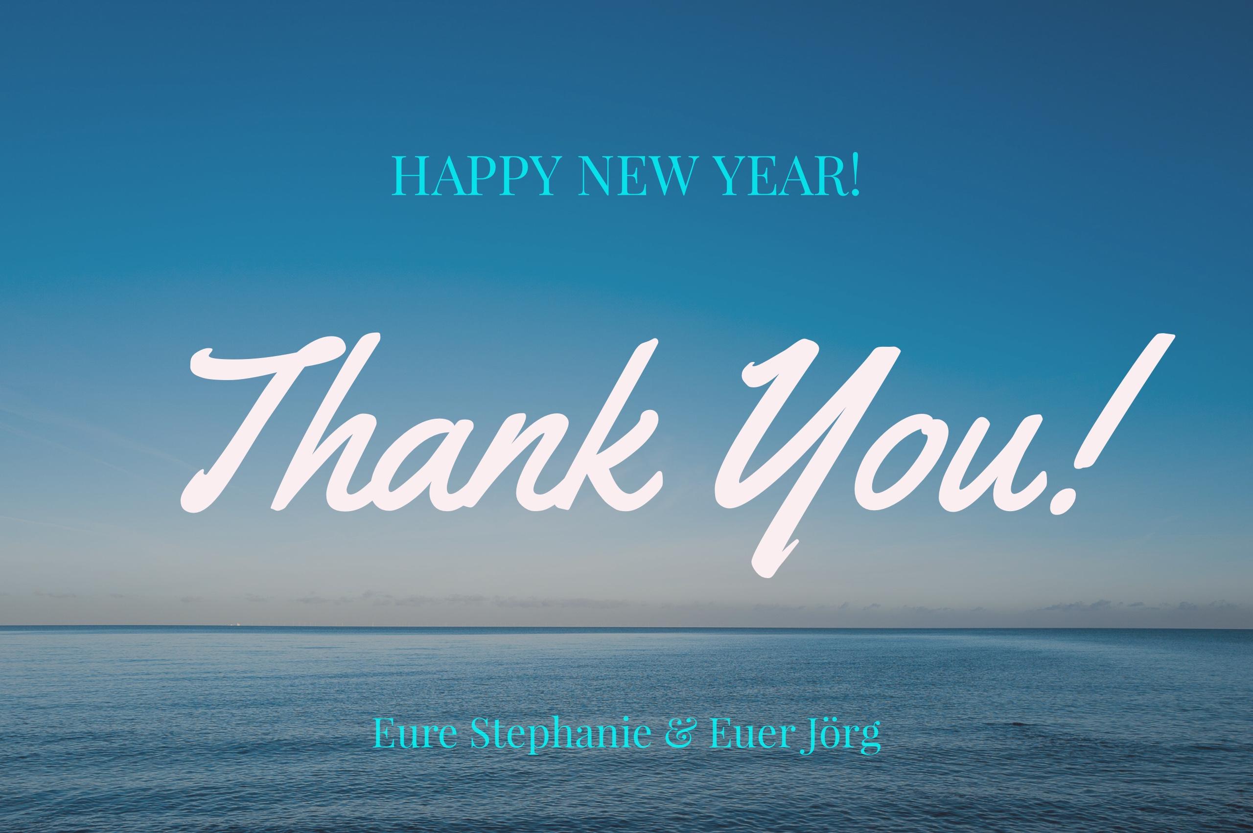 Wir wünschen Euch einen guten Start ins neue Jahr 2017