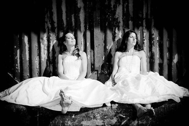 Trash the Dress – Kirsten & Myriam – zwei Bräute!