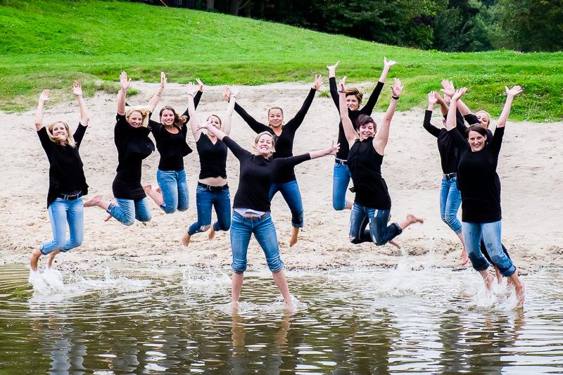 Junggesellinenabschied und Freundinnen-Treffen am See – ein mächtiger Spaß!