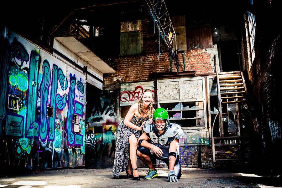 Mit Kirsten und Dennis in einem Lost Place – ein reines Funshooting