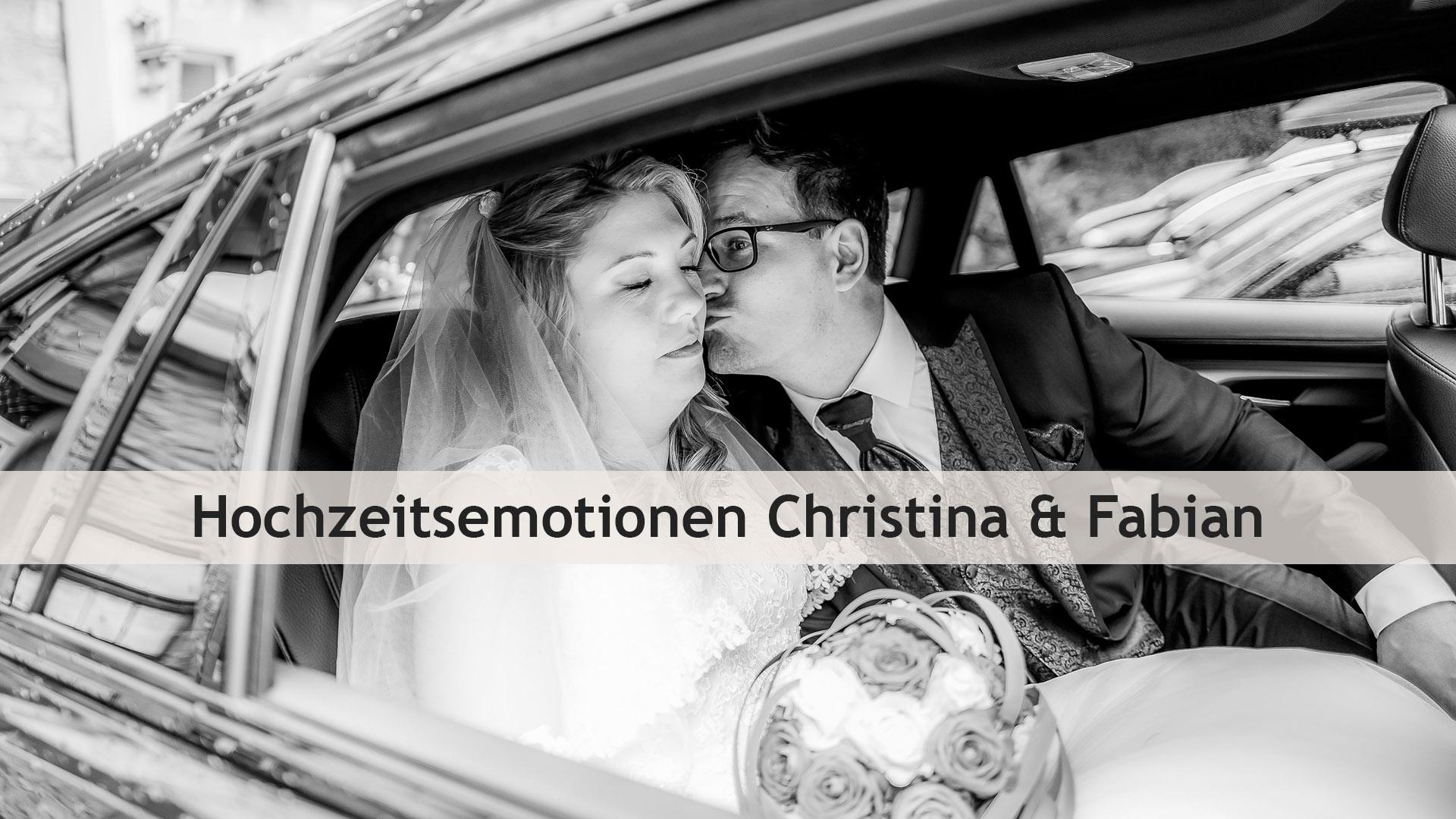 Christina und Fabian – Hochzeitsemotionen in Neu-Anspach und auf der Saalburg