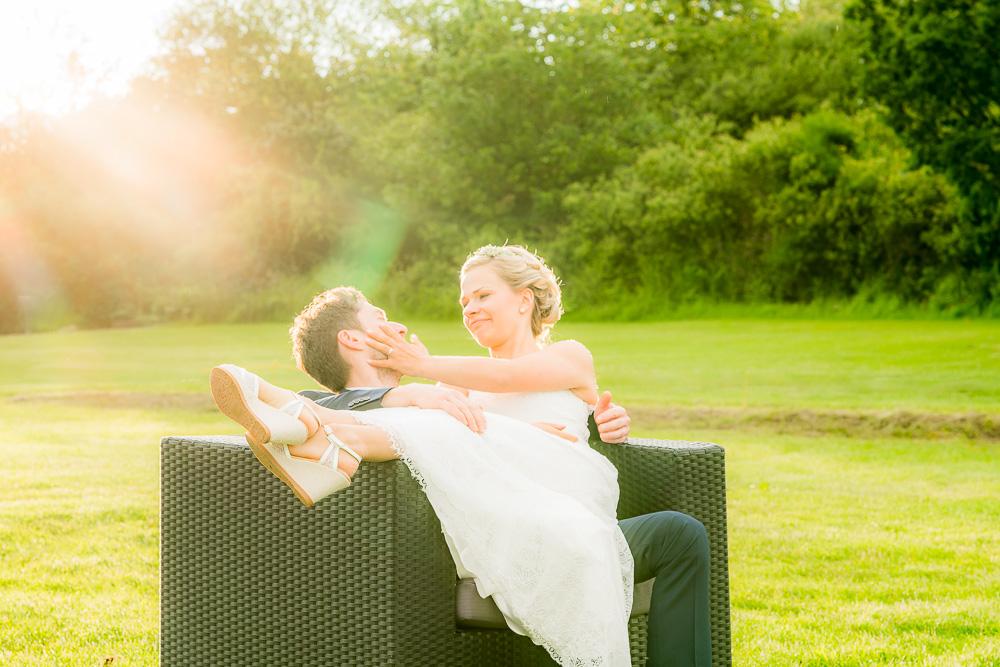 Ein Regenbogen, Spaß und viele Emotionen – Die Hochzeit von Ann-Kathrin und Oliver