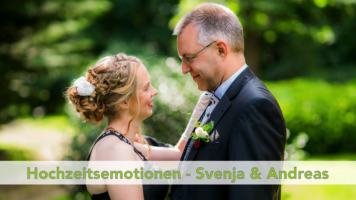 Echte Hochzeitsemotionen im Norden bei Svenja und Andreas