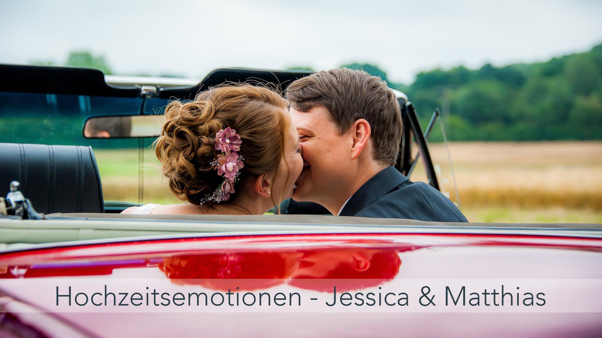 Mit Jessica und Matthias echte Hochzeitsemotionen im Taunus erleben