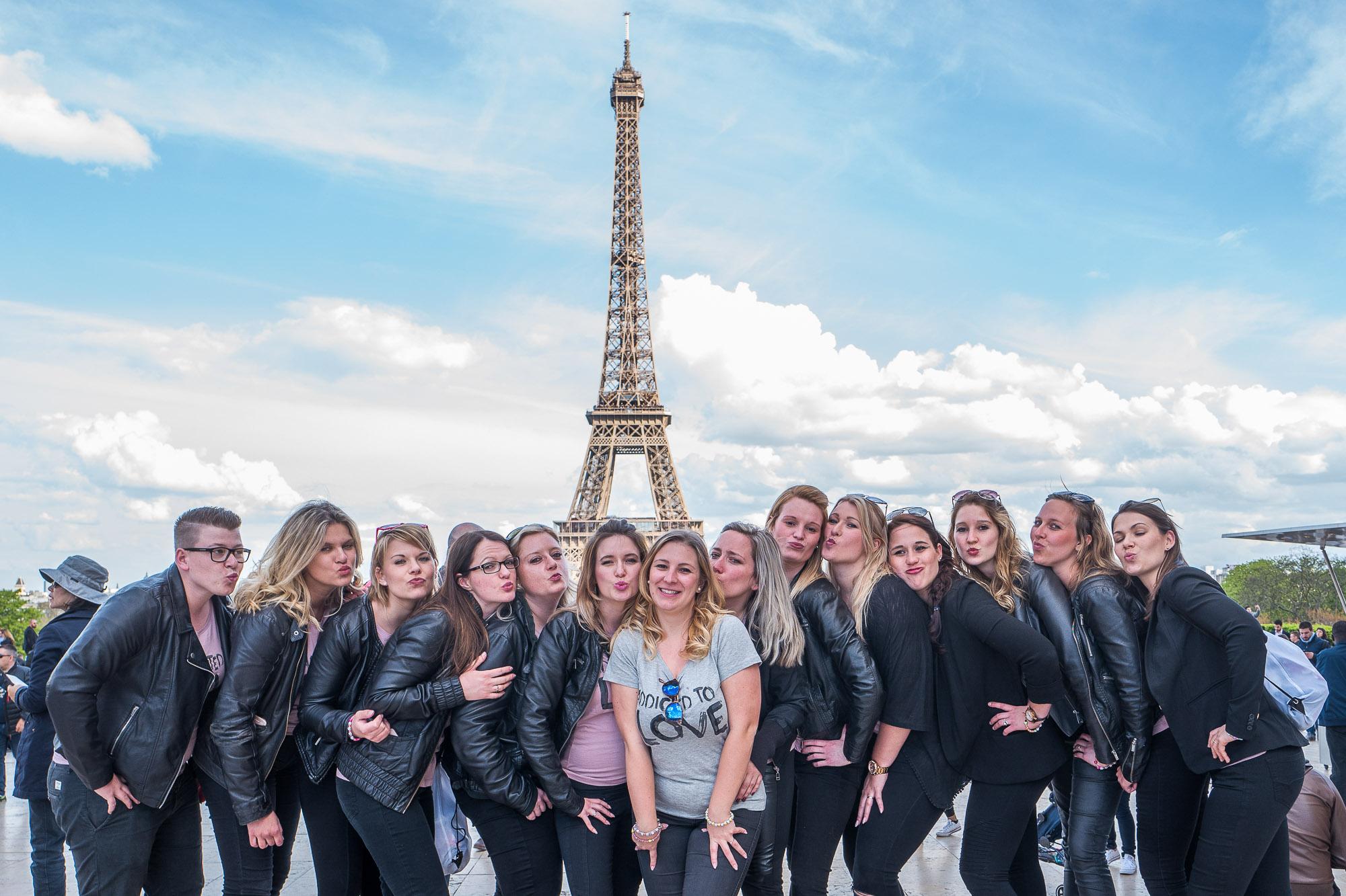 Mit 14 Ladies in Paris zum Junggesellinnen-Abschied. Ein unglaublicher Spaß!